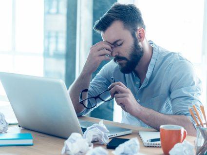causas de stress no trabalho