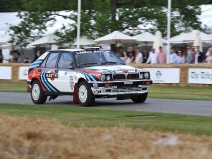 Lancia Delta Integrale, um dos melhores carros do rali de Portugal