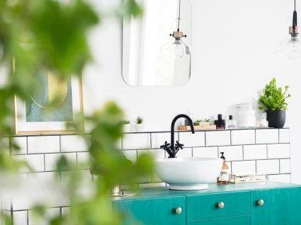 lavatório de casa de banho arrumado
