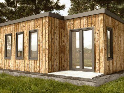 casa modular de madeira