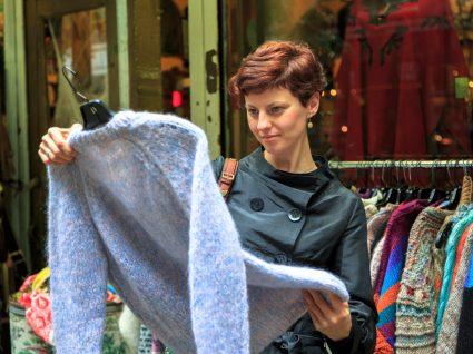Lojas de roupa usada no Porto