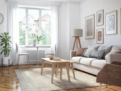 renovar a sala com menos de 400 euros