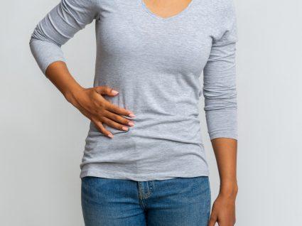 Mulher com apendicite