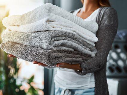 lavar roupa de cama e banho