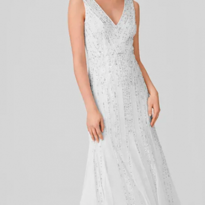 vestido de casamento c&a