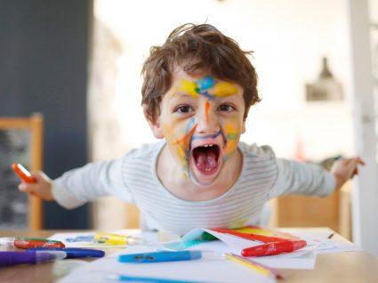 Criança com défice de atenção