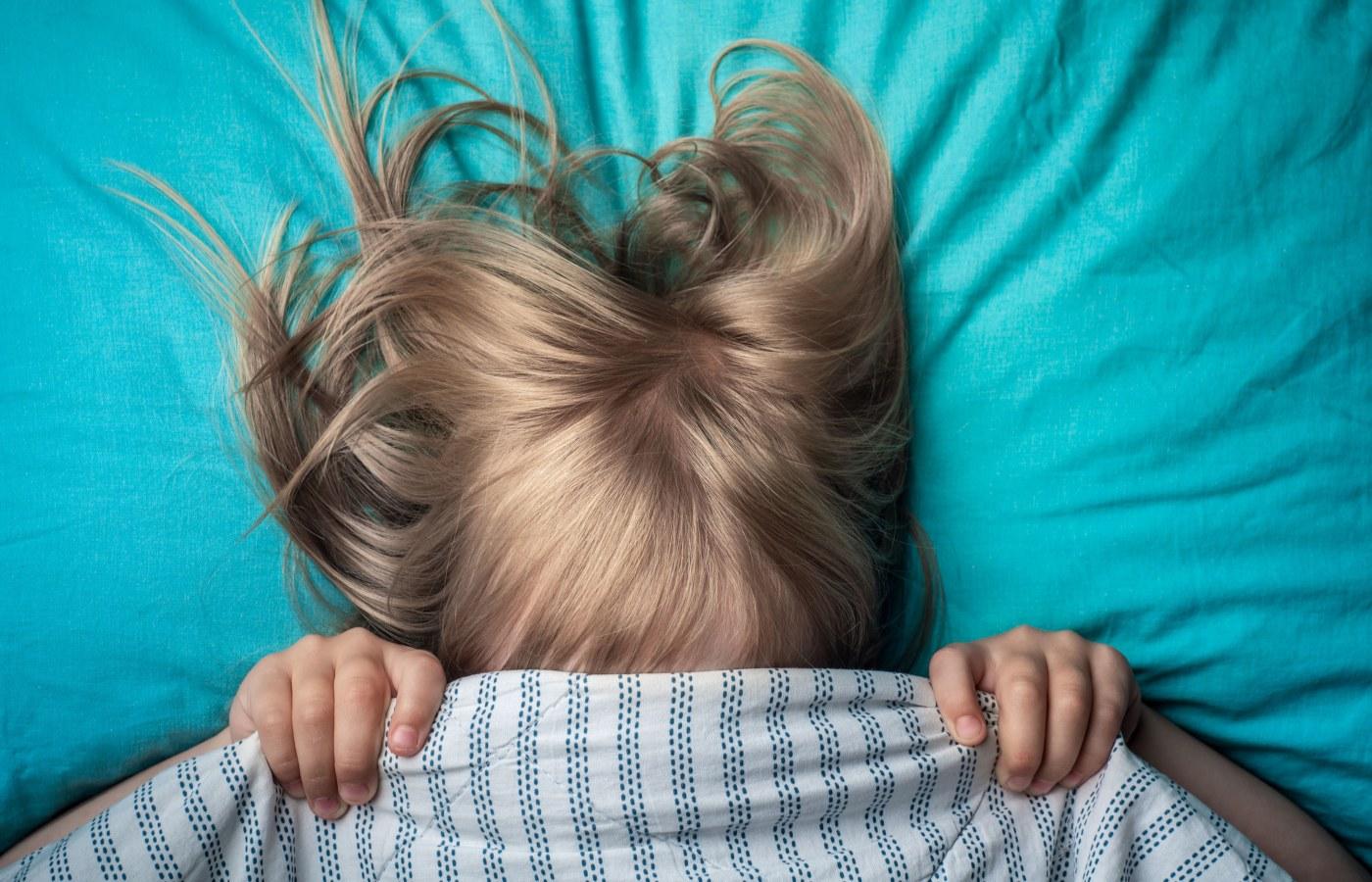 criança não consegue dormir