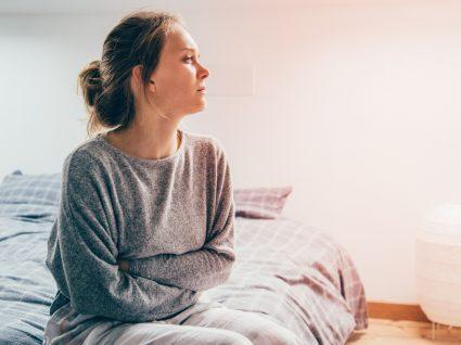 Mulher com dor crónica