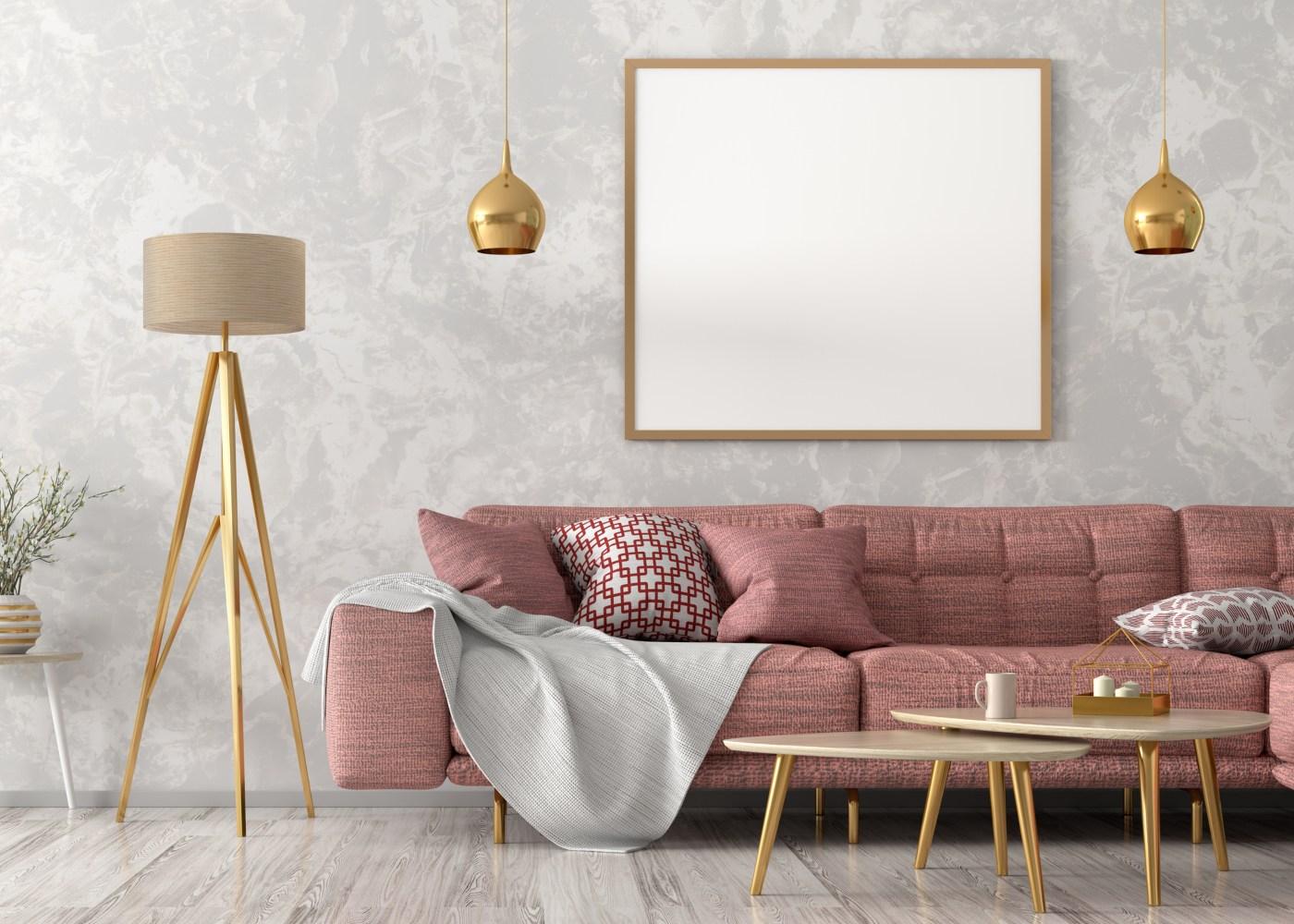 sala de estar simples