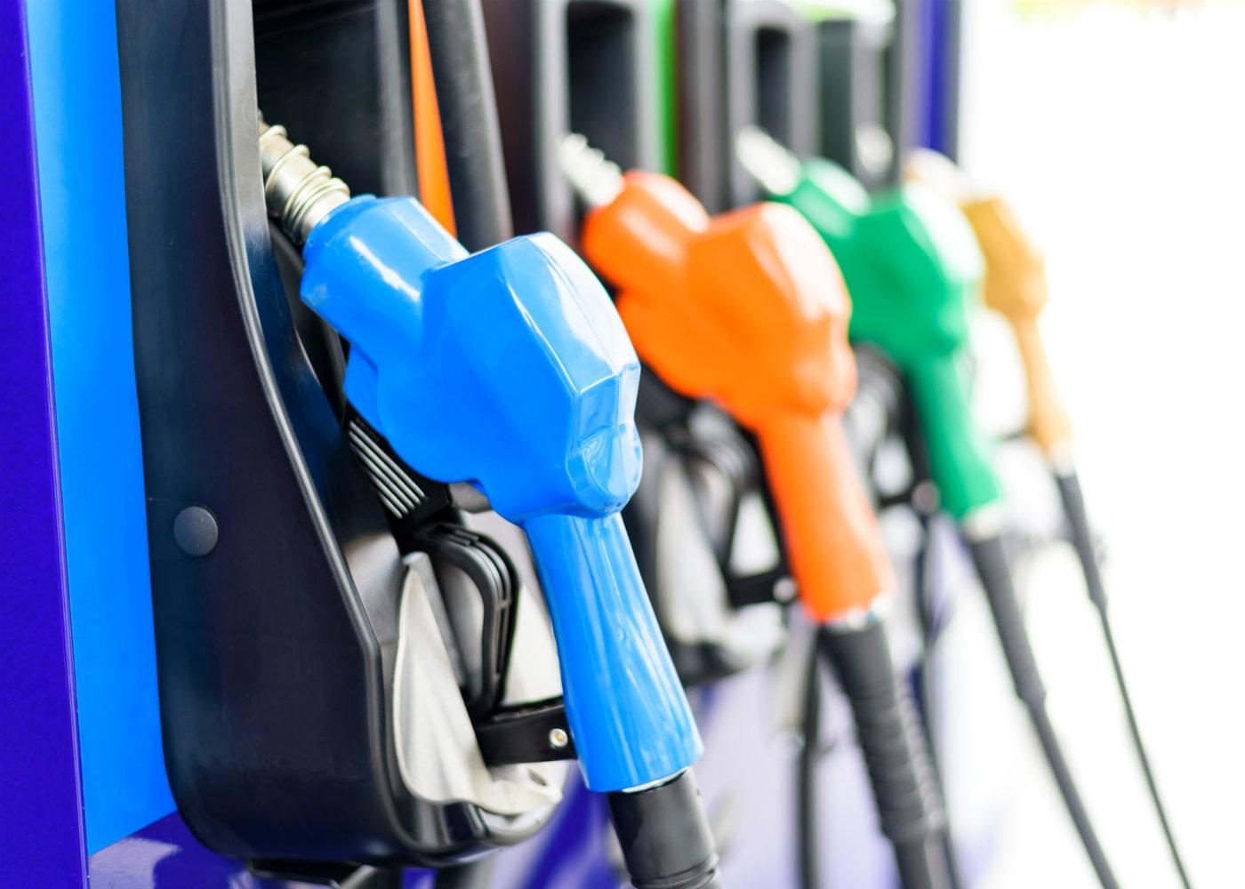 tipos de combustíveis disponíveis