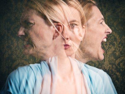 mulher com doença bipolar