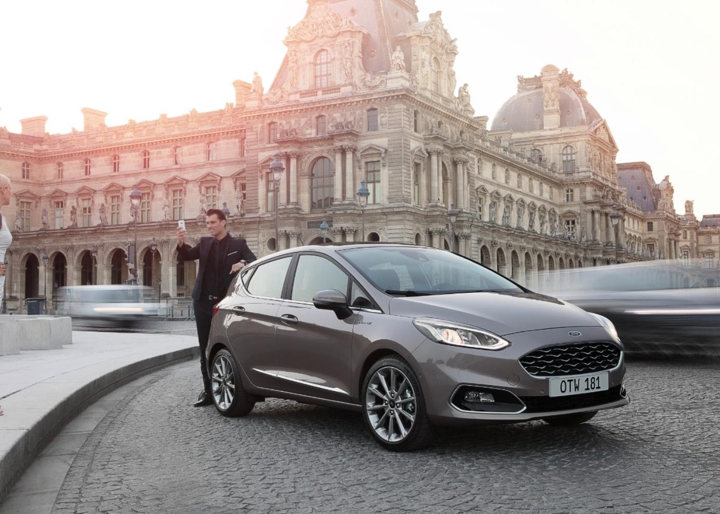 Ford Fiesta, um dos carros com menor consumo