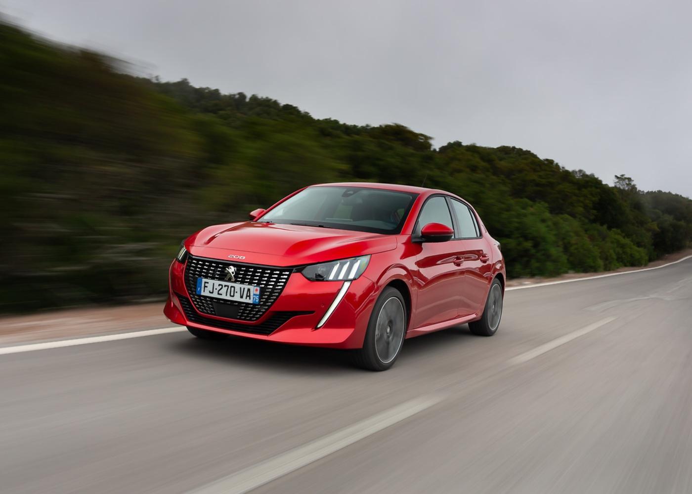 Peugeot 208, um dos carros com menor consumo