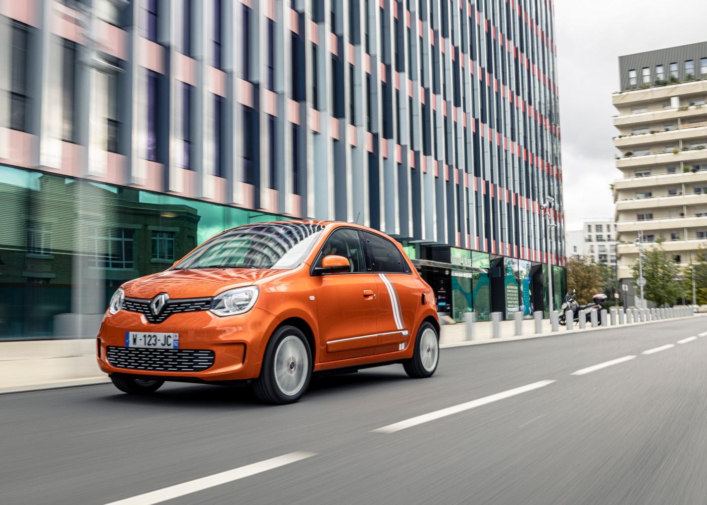 Renault Twingo, um dos carros com menor consumo