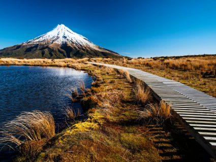 Vulcão na Nova Zelândia