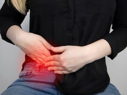 Mulher com apendicite aguda