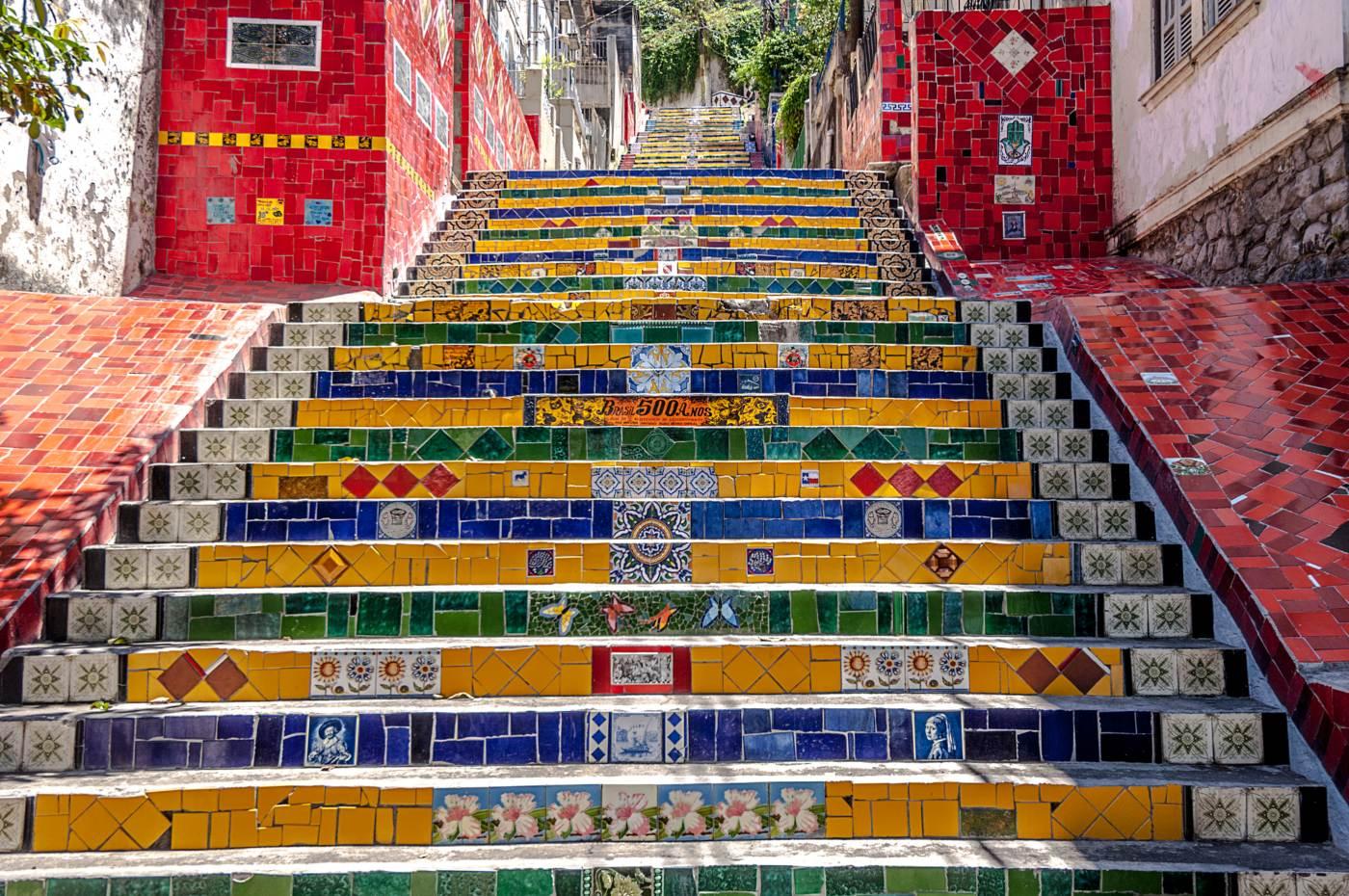 azulejos da escadaria selarón