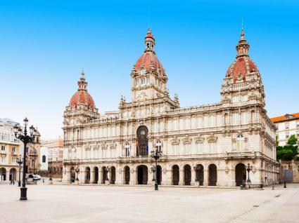 Centro histórico da Corunha