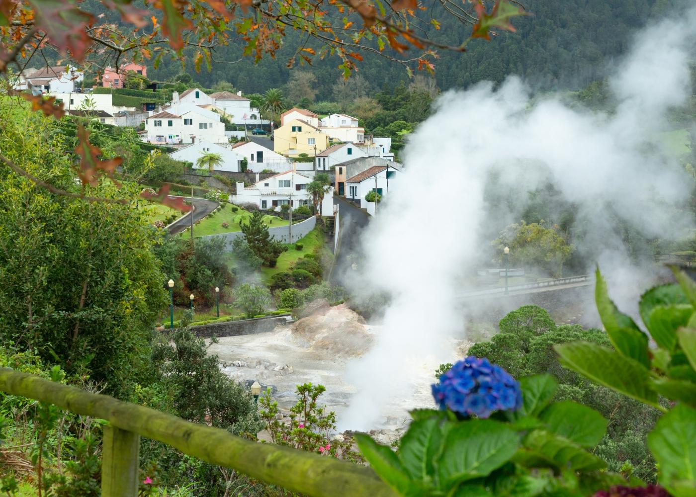 Furnas nos Açores