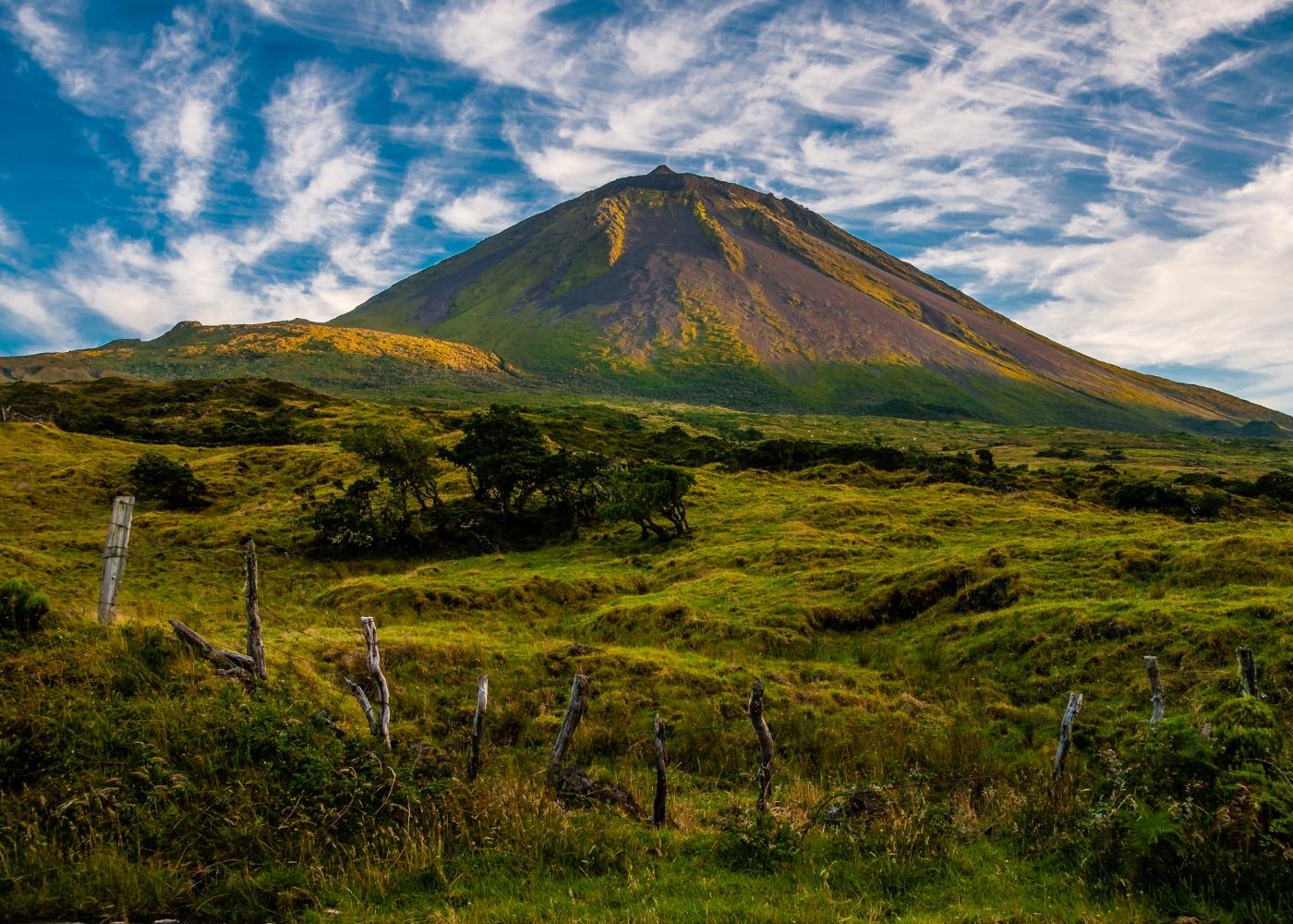 topo do pico Açores