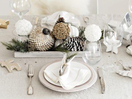 mesa para o jantar de réveillon