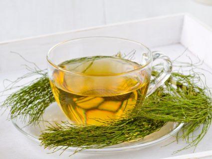 Chá drenante de cavalinha
