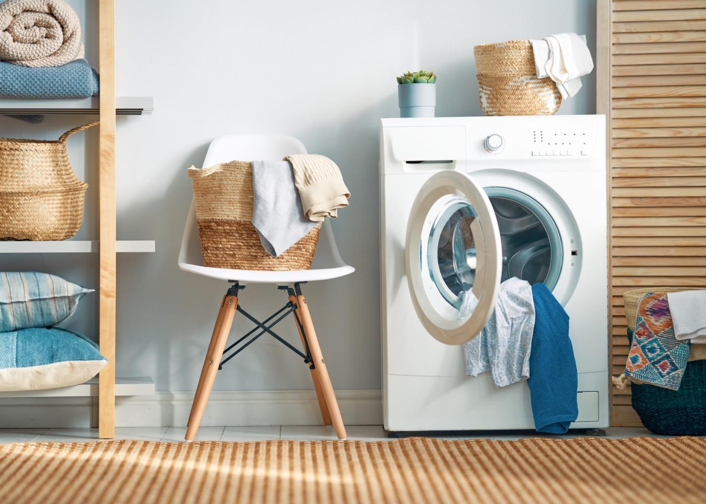 lavar roupa nova antes de usar