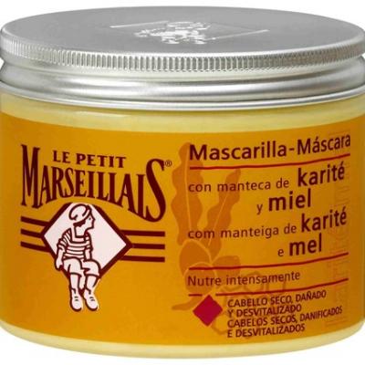 máscara de cabelo com mel
