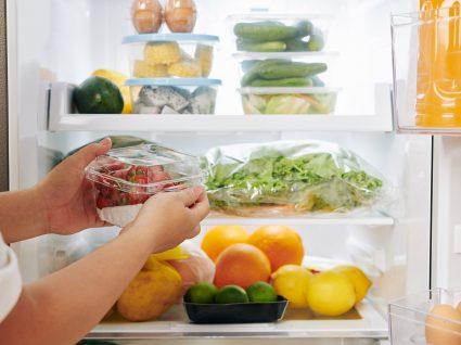 erros ao guardar os alimentos no frigorífico