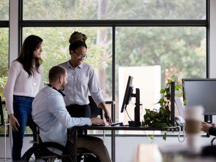 equipa de trabalho inclusiva no âmbito da igualdade no trabalho