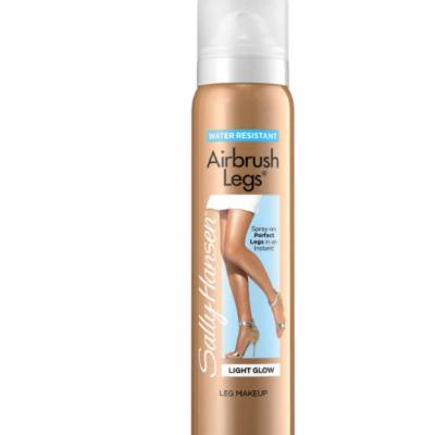 spray bronzeador para pernas