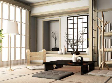 sla decorada de forma zen e clara