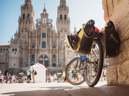 Bicicleta no Caminho de Santiago