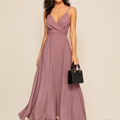 vestido shein rosa velho