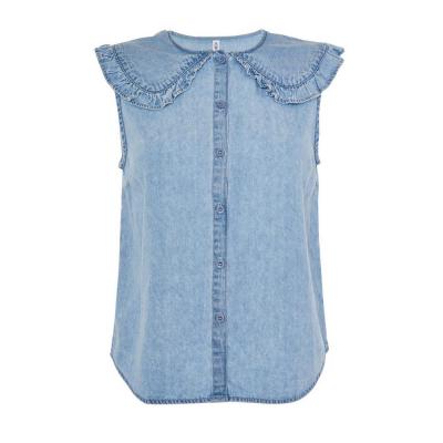 blusa azul primark