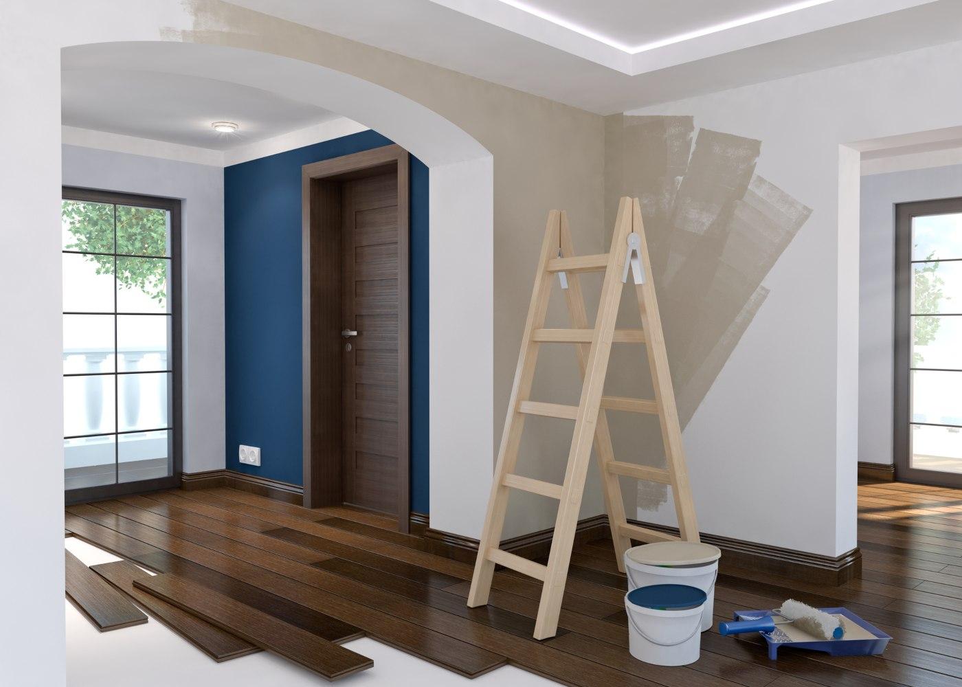 casa a ser pintada