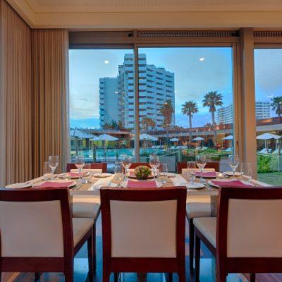 restaurante azimute interior