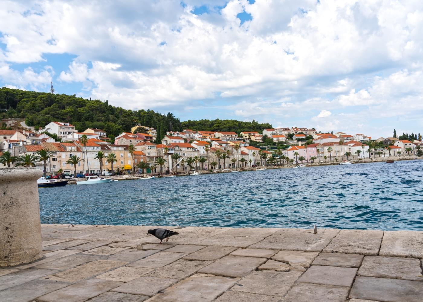 ilha Korcula na Croácia
