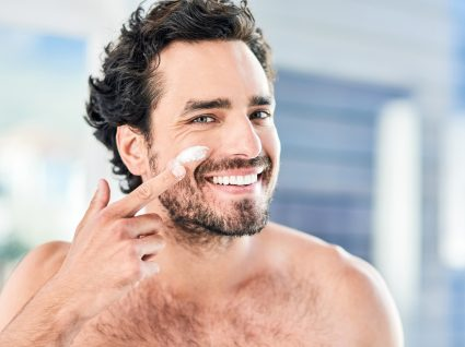 esfoliantes faciais para homem