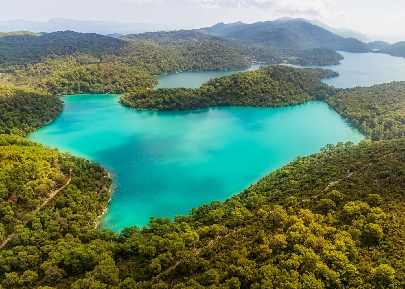 ilha Mljet na Croácia