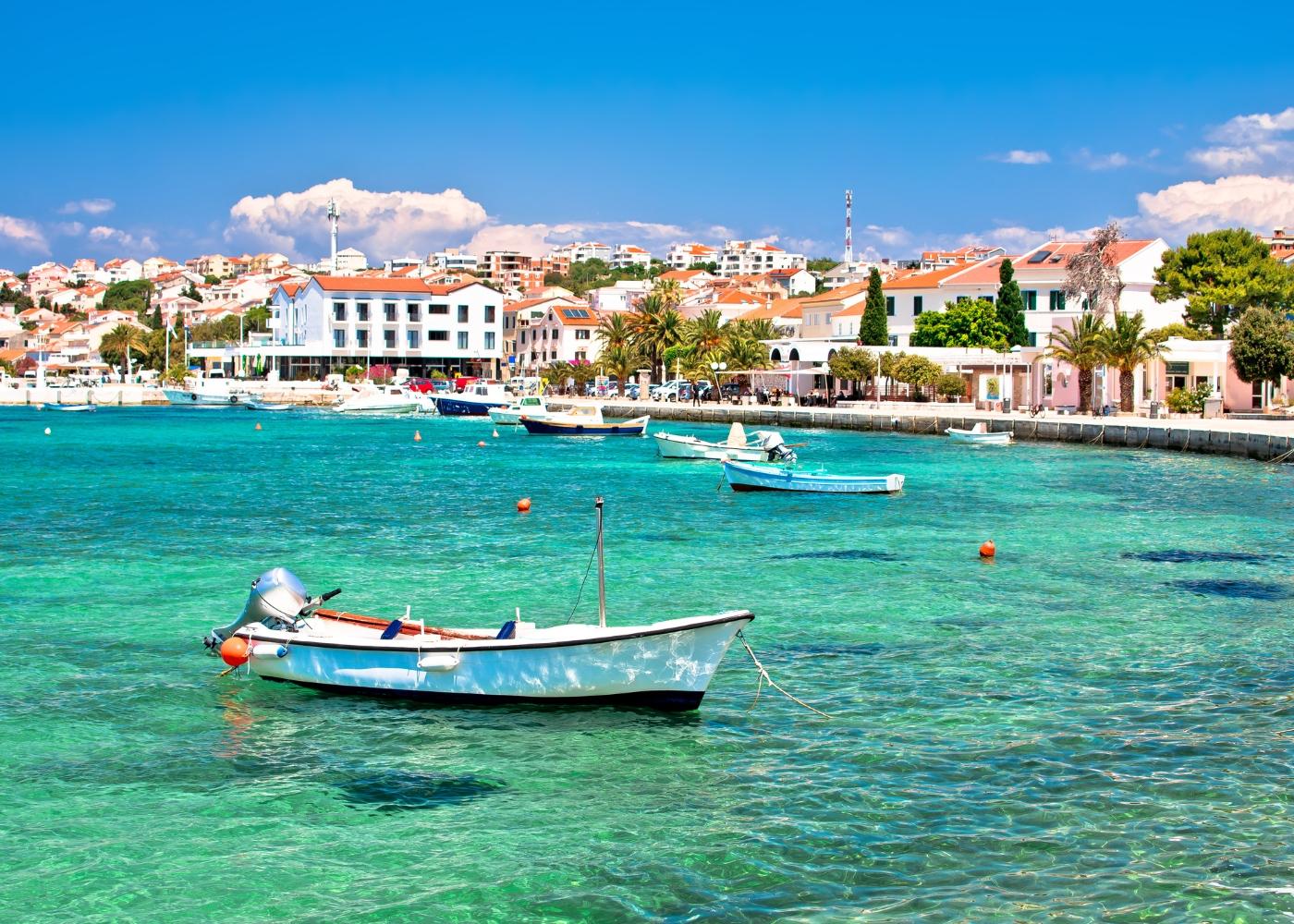 vista da ilha Pag Croácia