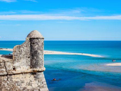 cacela, uma das praias mais quentes do Algarve