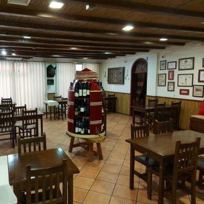 restaurante talha de azeite interior