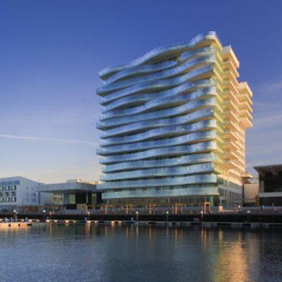 edifício do tróia design hotel