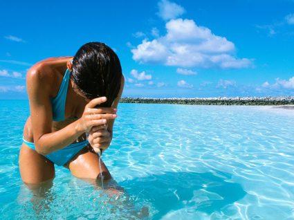 Melhores protetores solares de cabelo