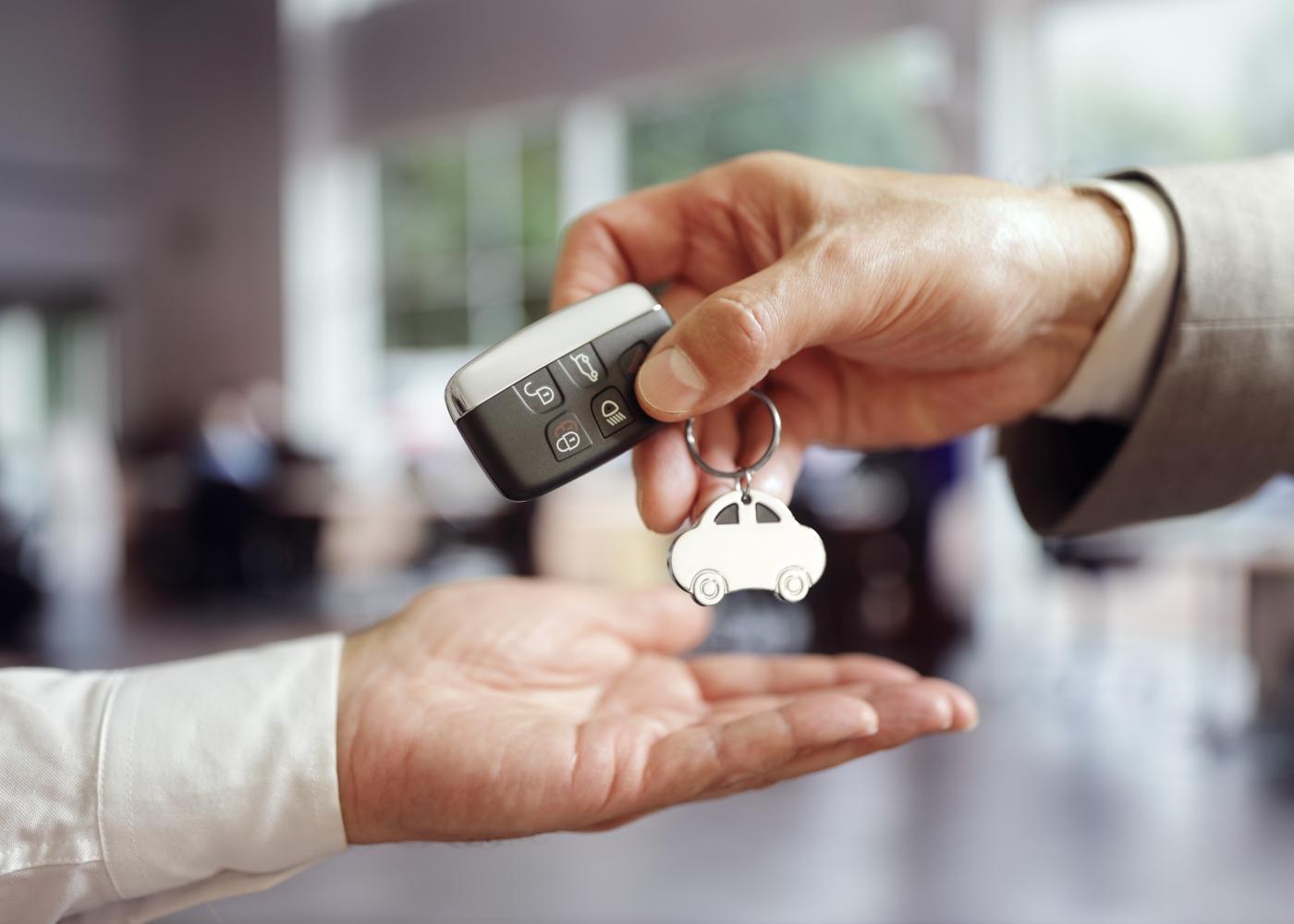chave de carro novo