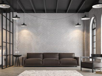sala decorada em tons neutros