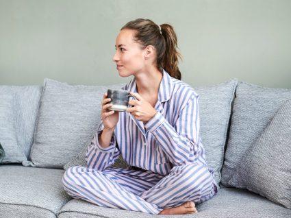 Mulher em pijama