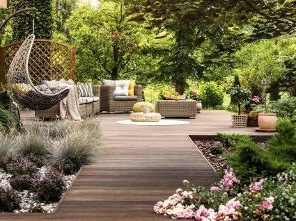 terraços em madeira