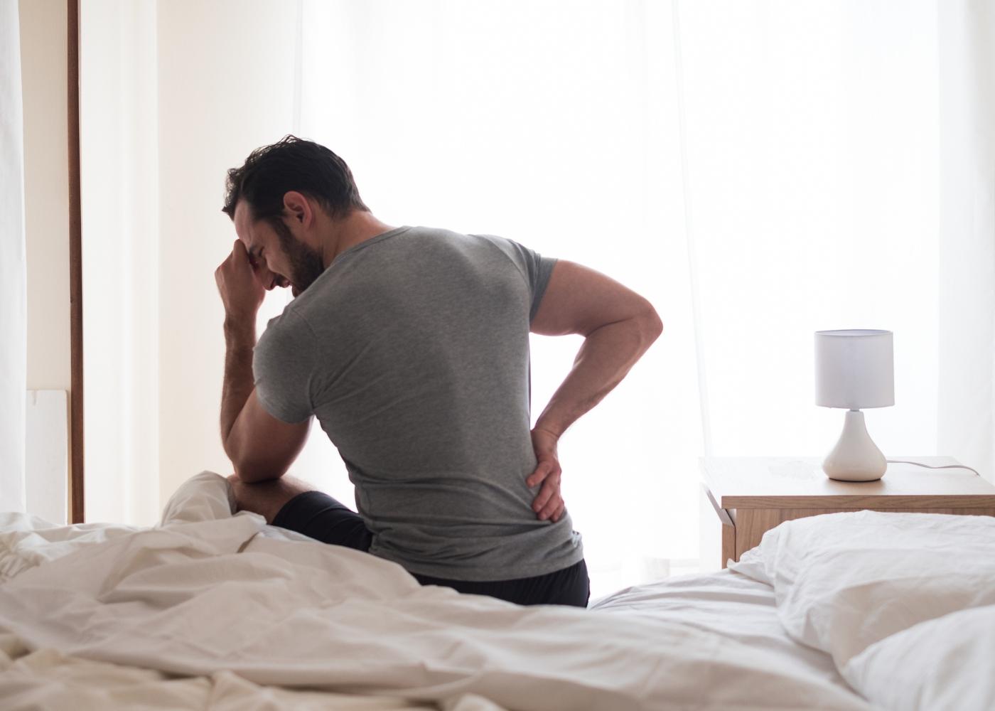 homem com dor ciática